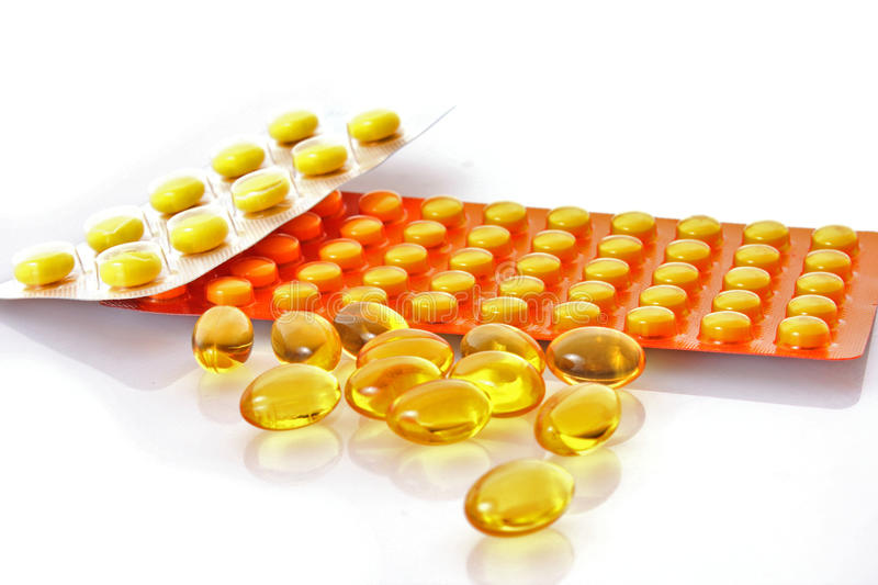 Medical tablets royalty free stock images