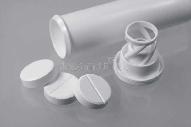 Medical tablets royalty free stock photo