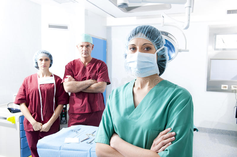 Download Medical Team stock image. Image of male, three, doctor - 18253777