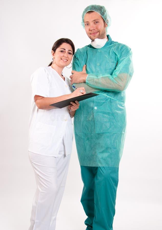 Download Medical team stock photo. Image of team, uniform, practitioner - 18573032
