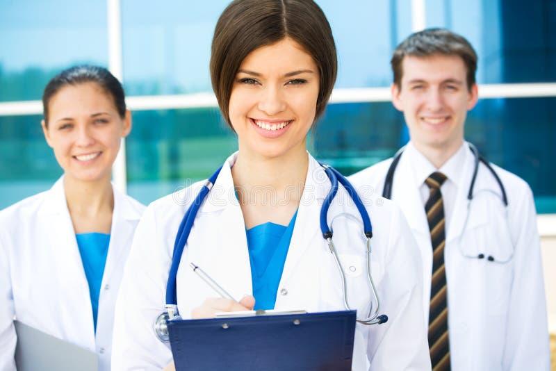 Medical team stock photo
