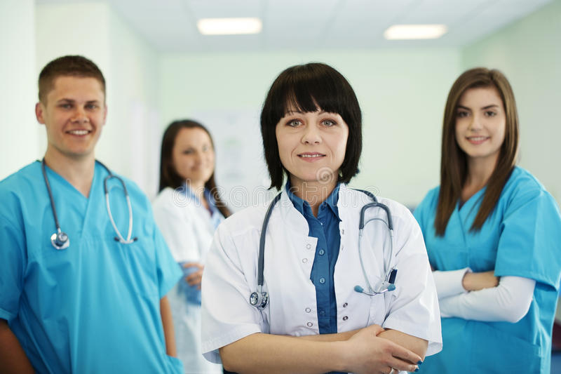 Medical team stock images