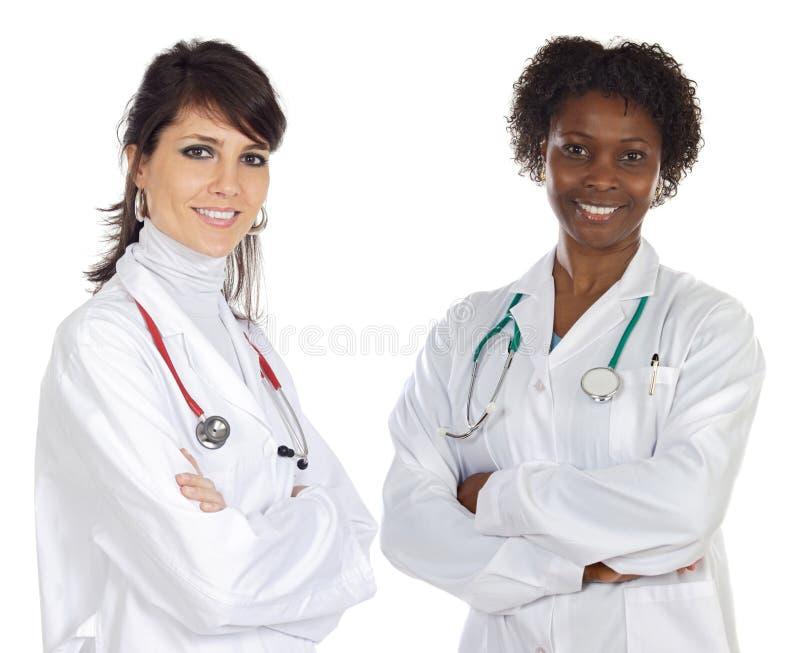 Medical team royalty free stock photos