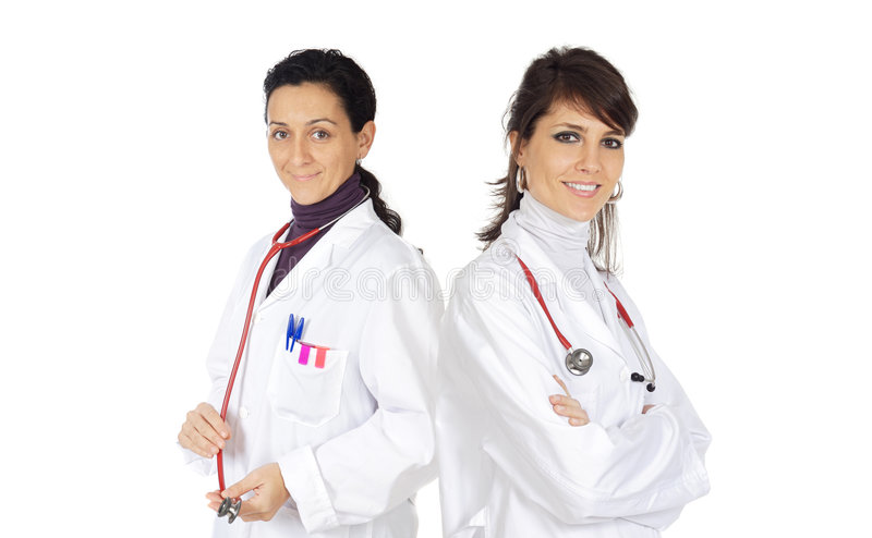 Medical team royalty free stock images