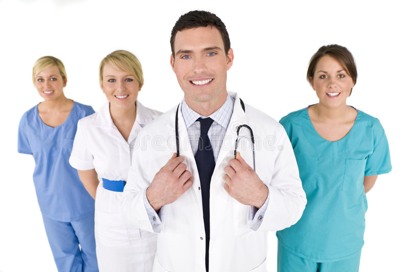 Download Medical Teamwork stock photo. Image of smiling, focus - 7371546