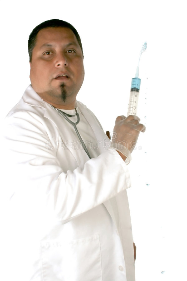 Medical technician royalty free stock image