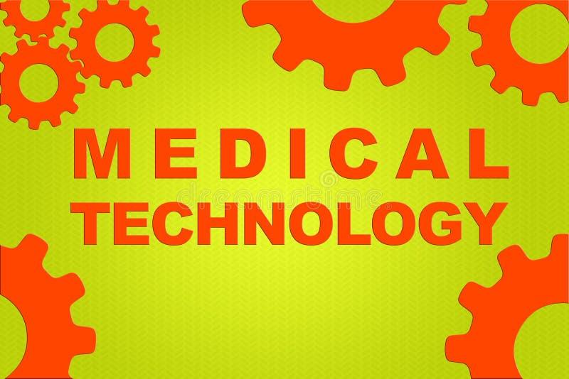 MEDICAL TECHNOLOGY concept stock illustration