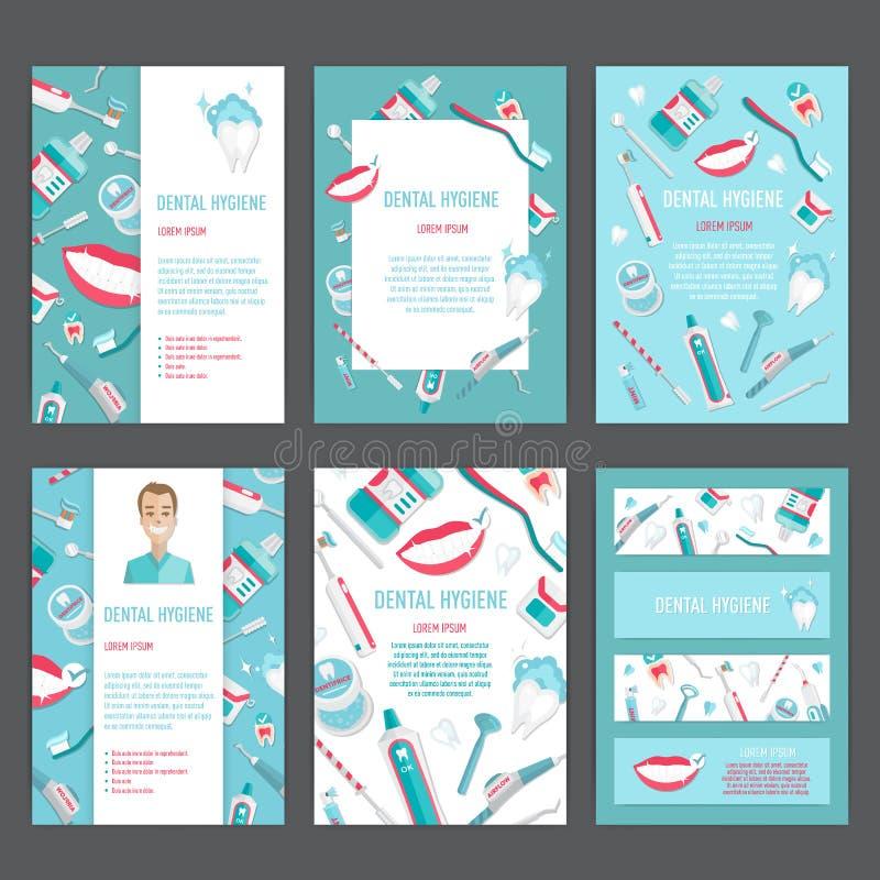 Medical teeth hygiene leaflet template design stock vector download medical teeth hygiene leaflet template design stock vector illustration of blank design stopboris Images