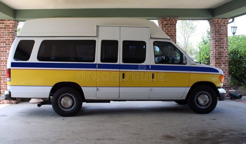 Medical Transport Van royalty free stock images