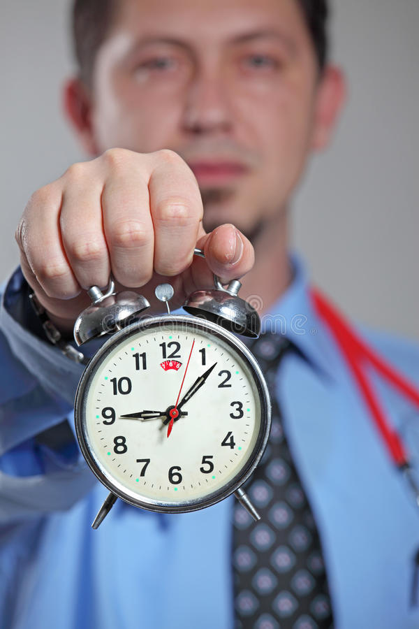 Medical treatment time royalty free stock photography