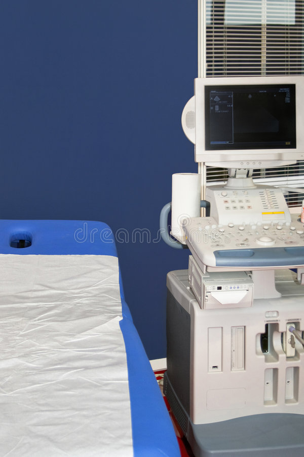 Medical ultrasonic royalty free stock images