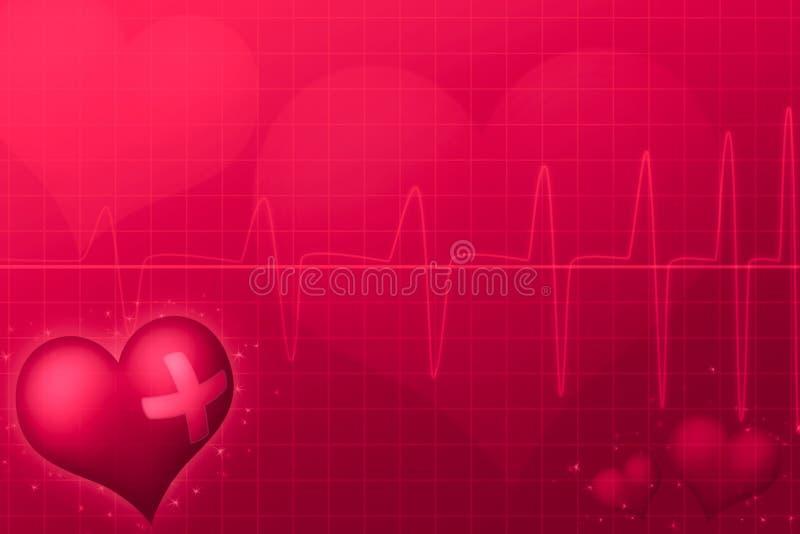Medical Valentine's day vector illustration