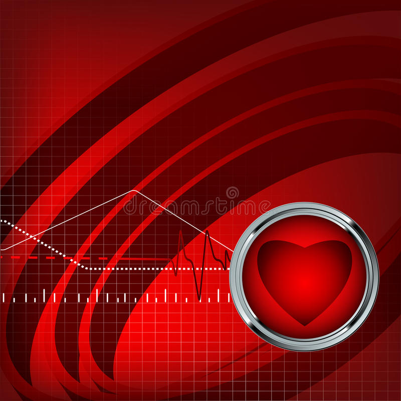Download Medical Vector Backdrop With Pulse. Eps10 Royalty Free Stock Photo - Image: 25063005