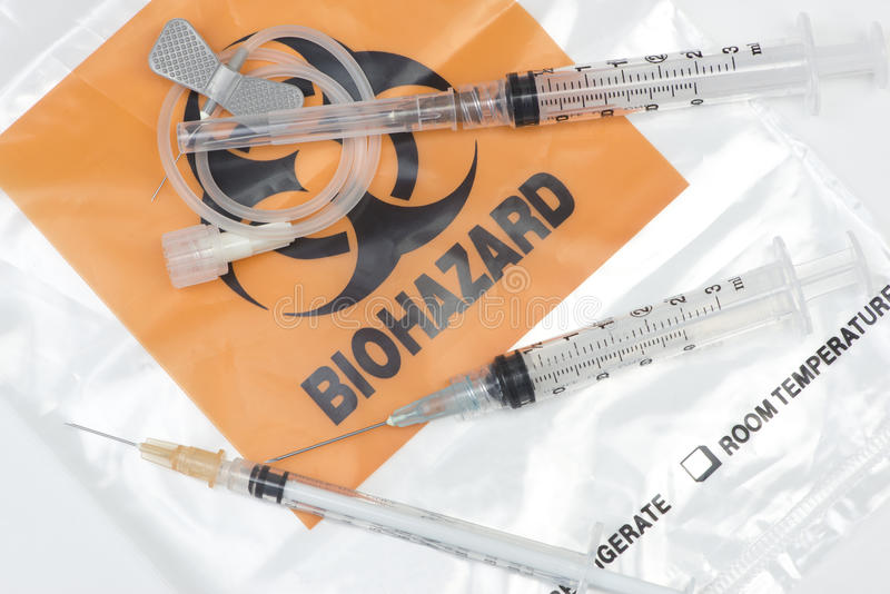 Medical Waste stock photography