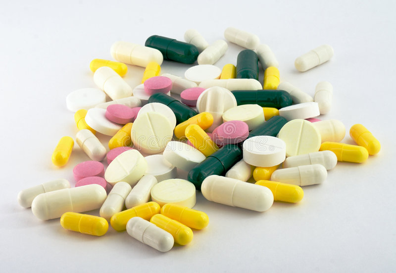 Medicamentação, comprimidos fotos de stock royalty free
