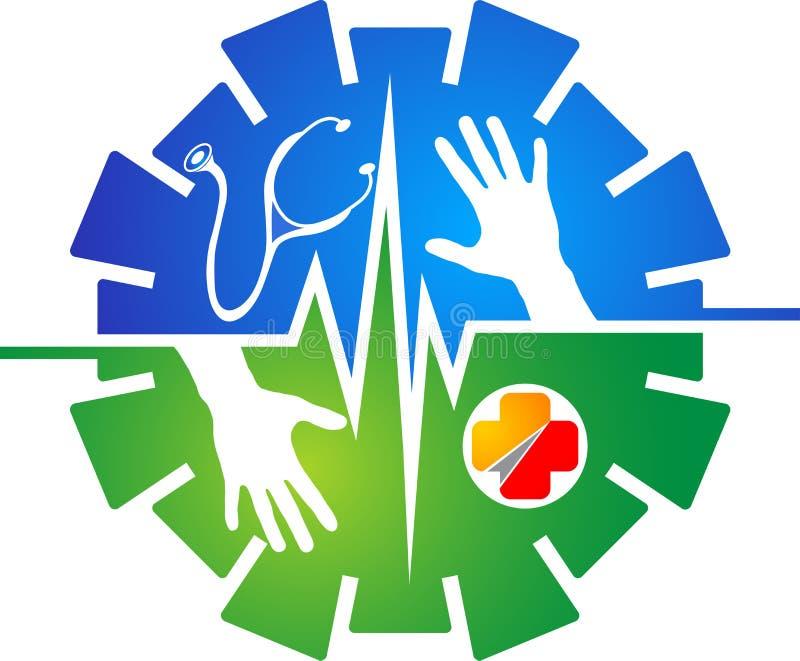 Medicare logo royalty ilustracja