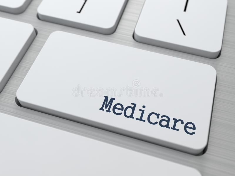 Medicare.  Medizinisches Konzept. lizenzfreies stockbild