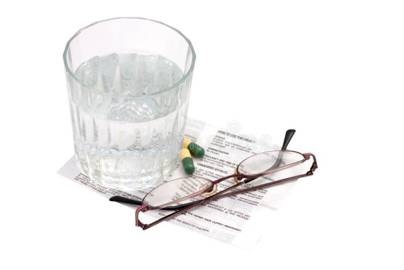 Medication instructions royalty free stock photography