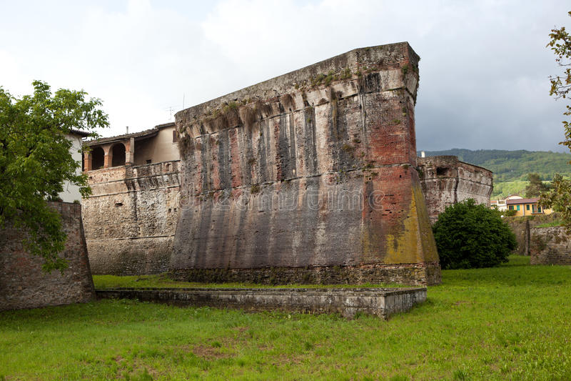 Medici-Festung Sansepolcro Italien lizenzfreies stockfoto