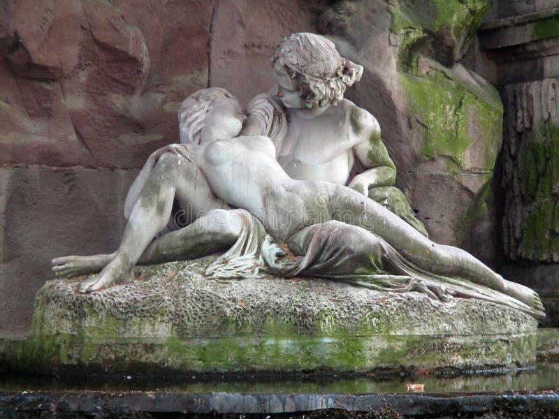 The Medici Fountain royalty free stock photos