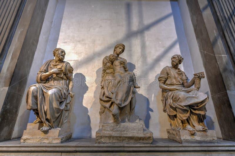 Medici-Kapelle - Florenz, Italien lizenzfreie stockfotografie