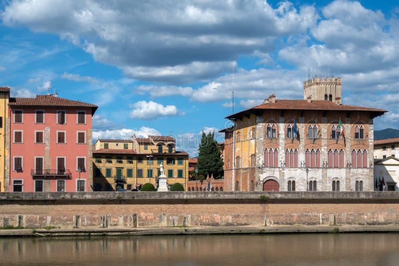 Medici-Palast in Pisa, Italien lizenzfreie stockbilder