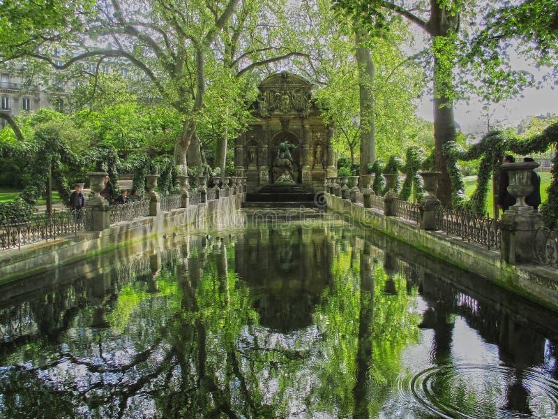 Medici springbrunn arkivfoto