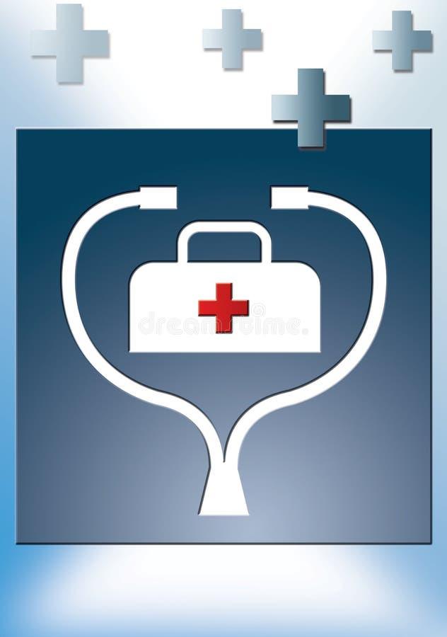 medicin för 2 general royaltyfri illustrationer