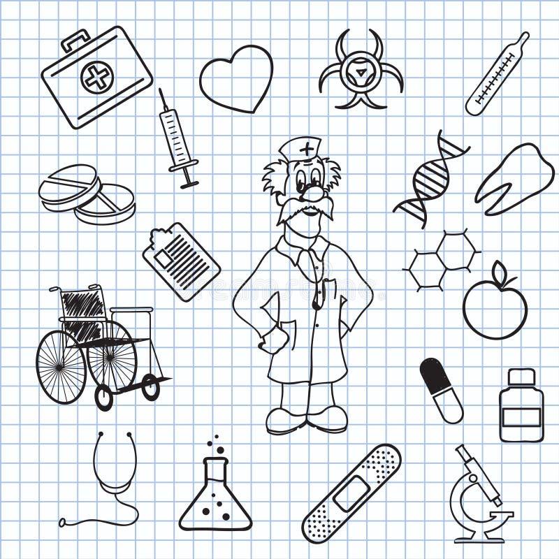 Medicina illustrazione vettoriale