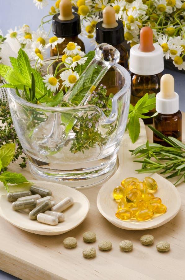 Medicina alternativa. fotografia de stock royalty free
