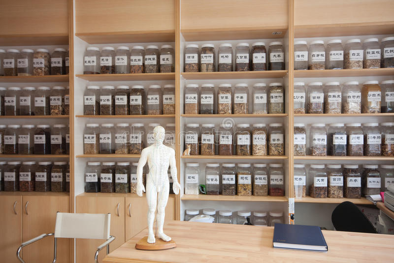 Medicina china imagen de archivo