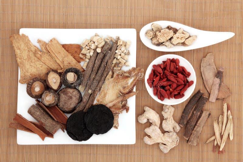 Medicina chinesa fotos de stock