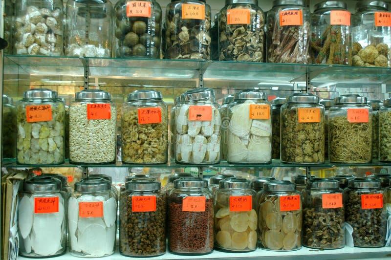 Medicina chinesa tradicional imagem de stock