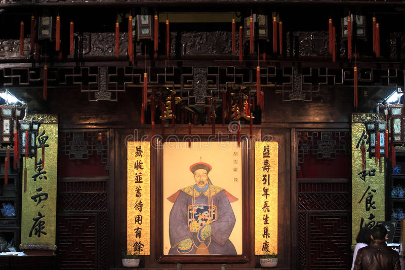 Medicina chinesa tradicional de Huqing fotografia de stock royalty free