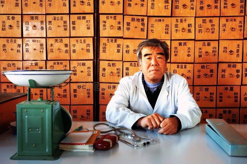 Medicina cinese immagini stock