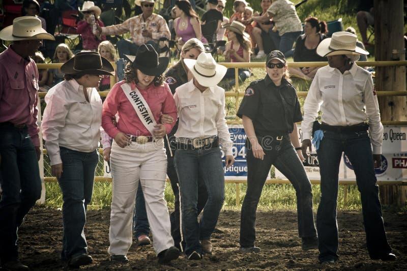 Medicina de esportes do rodeio e dos cowboys fotos de stock