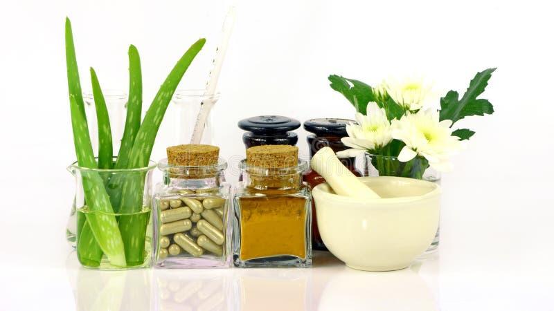 Medicina de productos naturales imagen de archivo libre de regalías