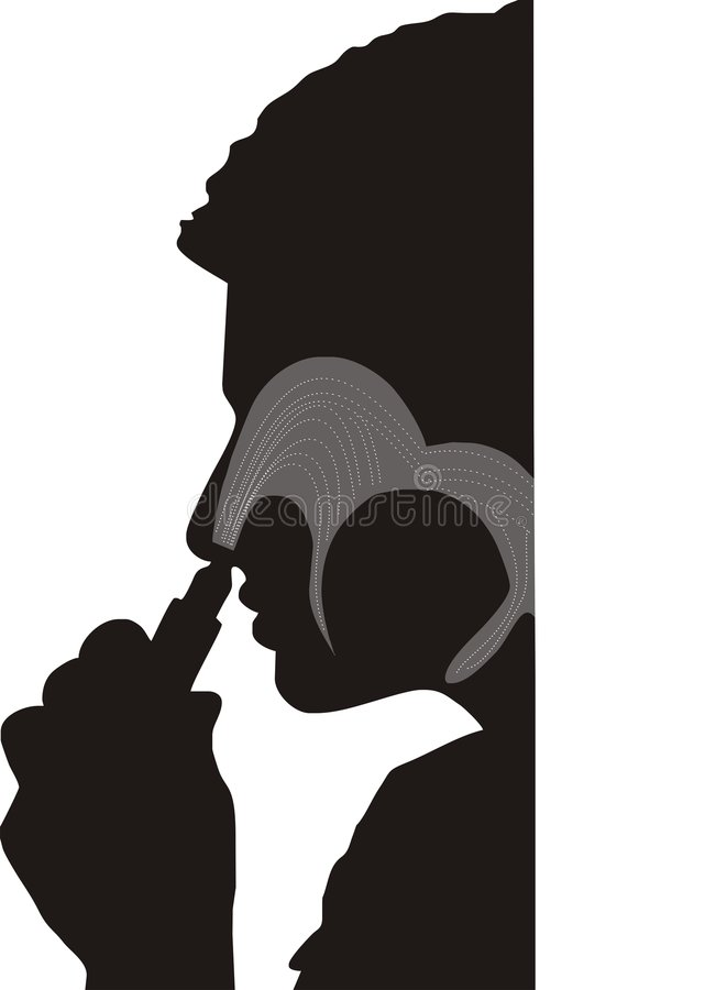 A medicina do nariz inala imagem de stock