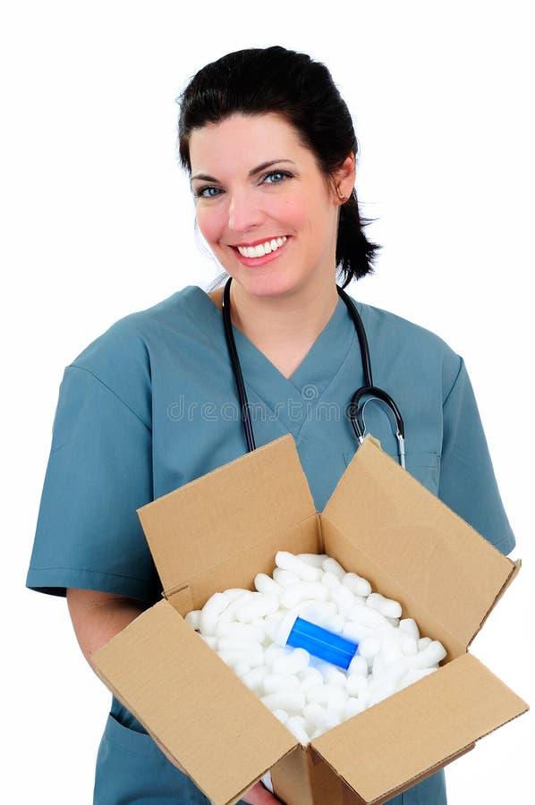Medicina do pedido de correio foto de stock royalty free