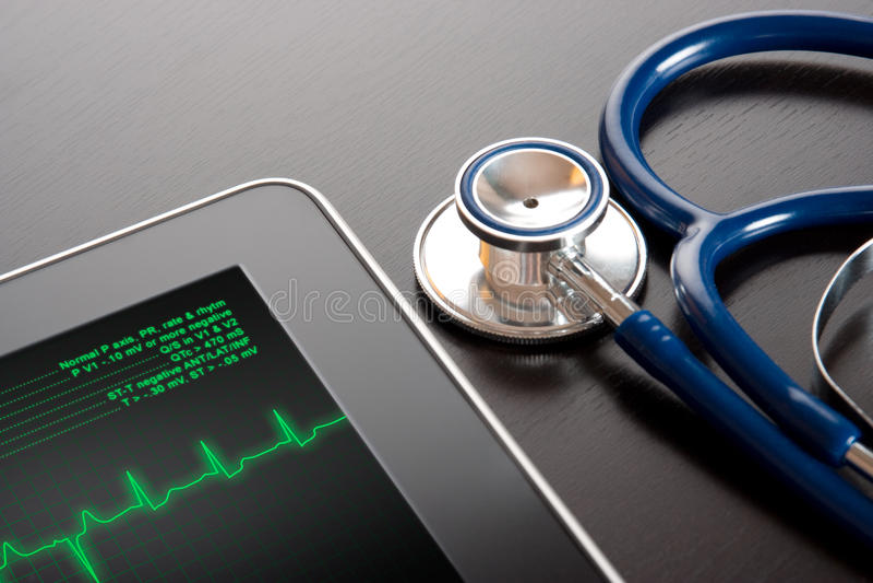 Medicina e nuova tecnologia fotografie stock