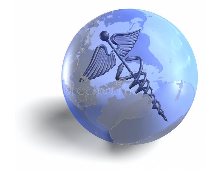 Medicina globale illustrazione di stock