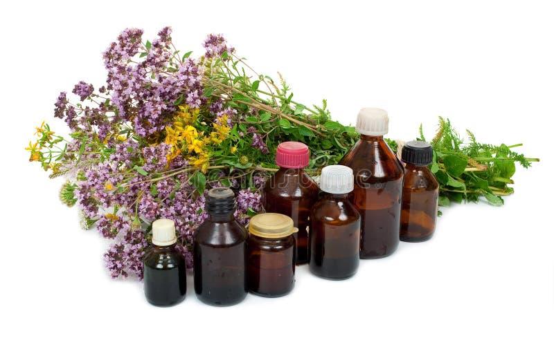 Medicina herbaria imagen de archivo
