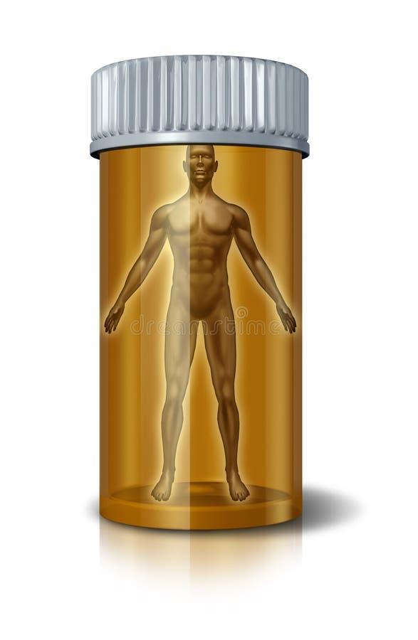 Medicina humana ilustração do vetor