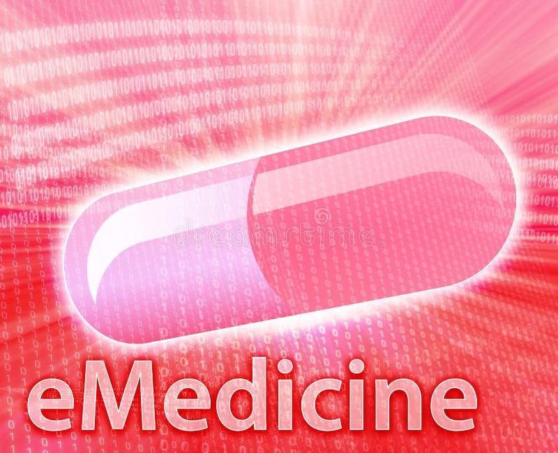 Medicina In Linea Immagine Stock