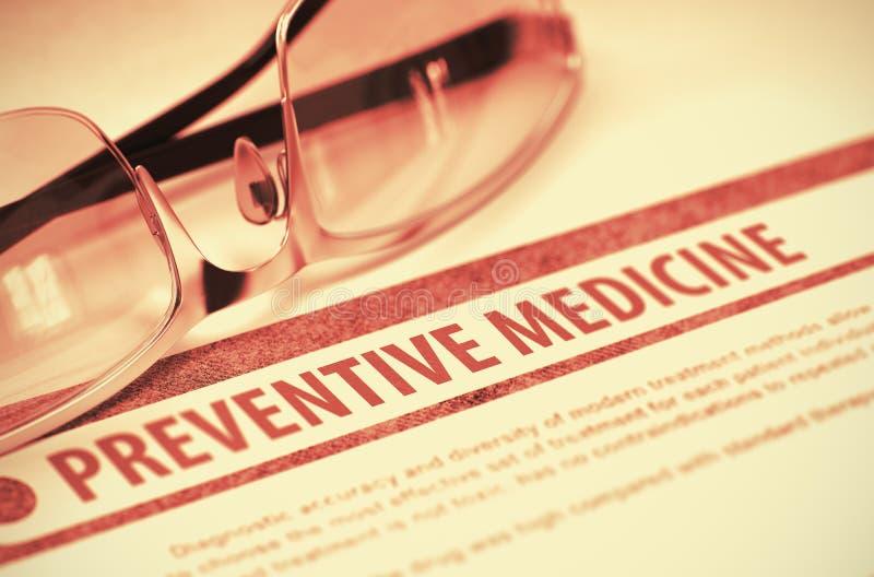 Medicina preventiva medicina ilustração 3D imagem de stock royalty free
