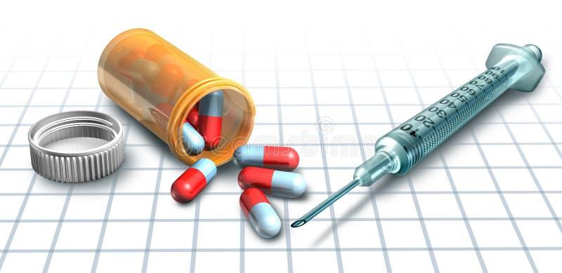 Medicina y drogas libre illustration