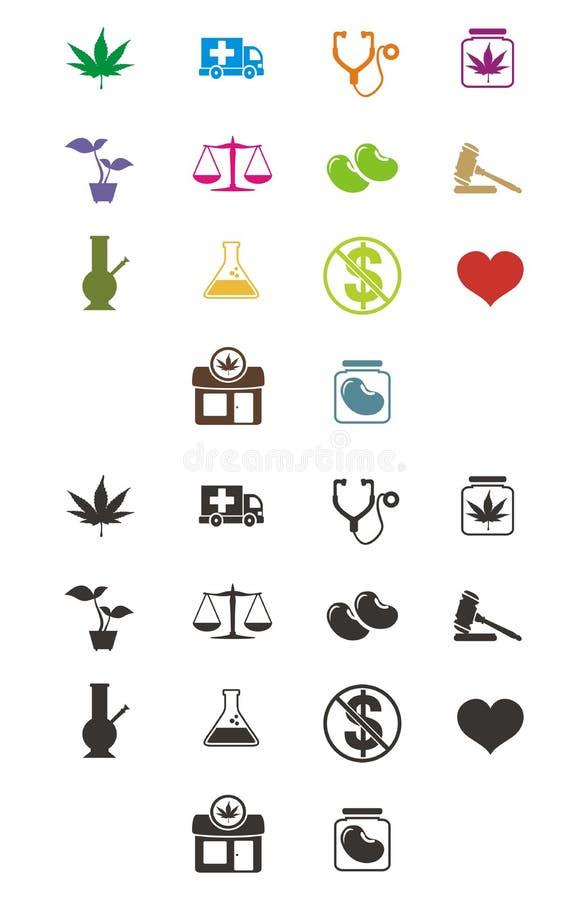 Medicinal marijuana icon