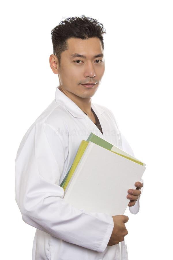 Medicinare eller forskare Intern arkivbild