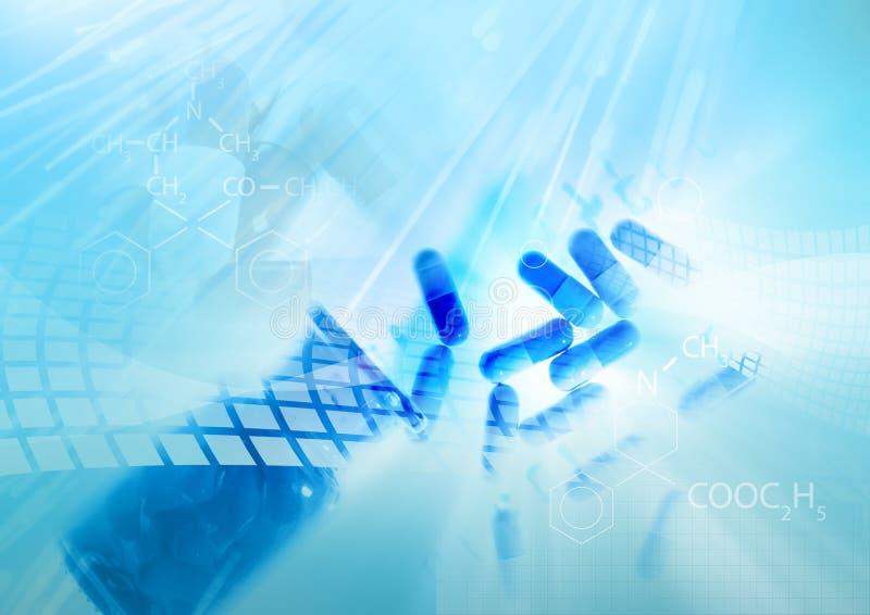 Medicine background stock illustration