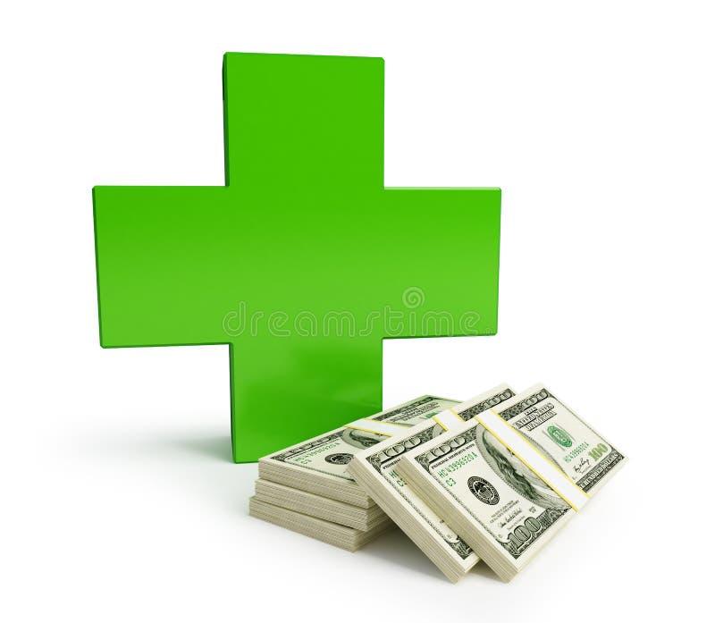 Download Medicine Becomes More Expensive Stock Illustration - Image: 18771457